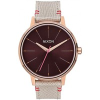Montres & Bijoux Femme Montre Nixon Montre  Kensington Leather - Rose Gold / Brown Rose