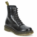 Chaussures Femme Boots Dr Martens 1460 W Black