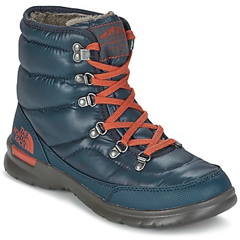Chaussures Femme Bottes de neige The North Face THERMOBALL LACE II W Bleu