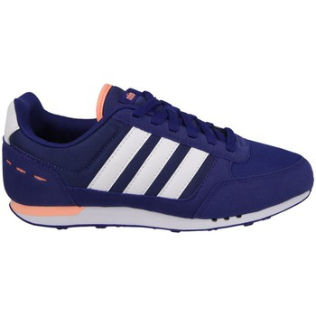 Chaussures Femme Baskets basses adidas Originals City Racer W Bleu