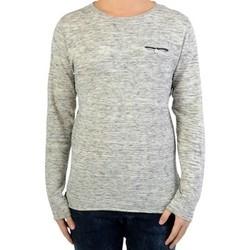 Vêtements Homme Pulls Deeluxe Pull Fin Deeluxe Tobias S17308 Grey Gris