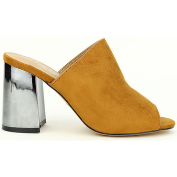 Chaussures Femme Sabots Cendriyon Sandales Caramel Chaussures Femme, Caramel