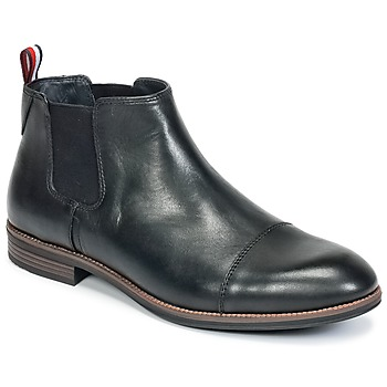 Chaussures Homme Boots Tommy Hilfiger TOMMY COLTON 11A Noir
