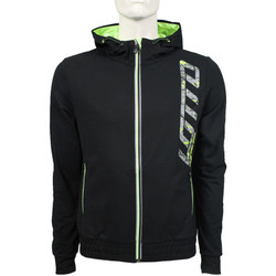 Vêtements Homme Vestes de survêtement Lotto Devin IV Sweat FZ HD FT Black / Green LTN