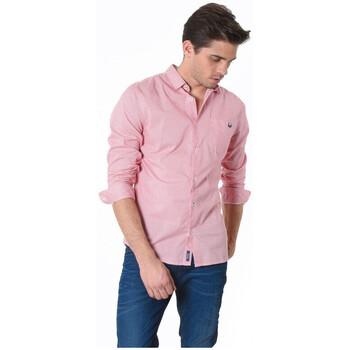Vêtements Homme Chemises manches longues Kaporal Chemise Dovi Aprico Rose