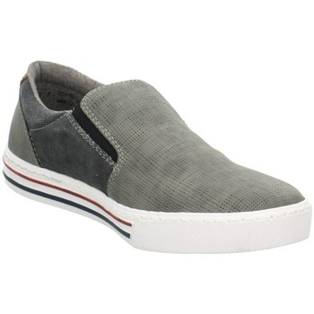Chaussures Homme Slips on Rieker 1955240 Gris