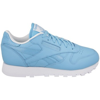 Chaussures Femme Baskets basses Reebok Sport Leather Seasonal Bleu-Blanc