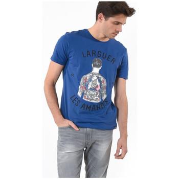 Vêtements Homme T-shirts manches courtes Kaporal Tee-Shirt Homme Cavid Bleu 19