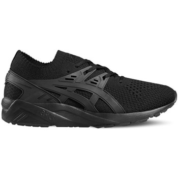 Chaussures Homme Baskets basses Asics Gelkayano Trainer Knit Noir