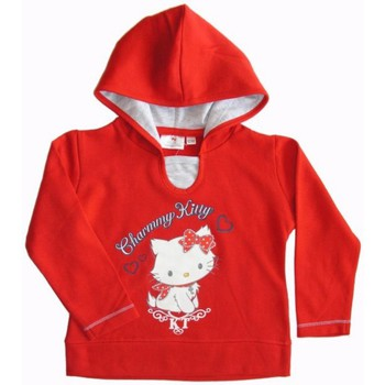 Vêtements Fille Pulls Dessins Animés Sweat à capuche rouge