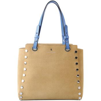 Sacs Femme Cabas / Sacs shopping Kesslord TICTACTOE ELITE_VE_CC Beige