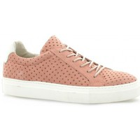 Chaussures Femme Baskets mode Apple Of Eden Baskets cuir velours Rose
