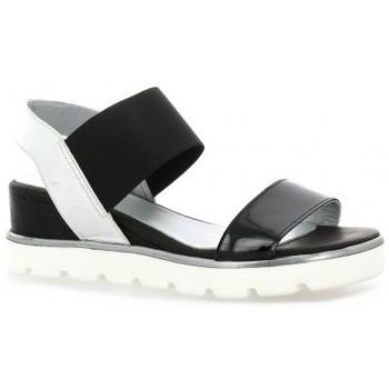 Chaussures Femme Sandales et Nu-pieds Riva Di Mare Nu pieds cuir vernis Noir