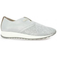 Chaussures Femme Baskets mode Riva Di Mare Baskets cuir Argent