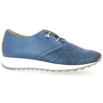 Chaussures Femme Baskets basses Riva Di Mare Baskets cuir Bleu