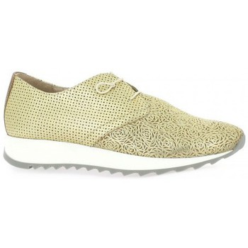 Chaussures Femme Baskets mode Riva Di Mare Baskets cuir Or
