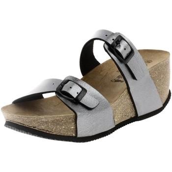 Chaussures Femme Mules La Maison De L'espadrille 3545 gris