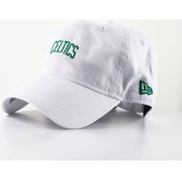 Accessoires textile Casquettes New Era Casquette Incurvée New Era Boston Celtics NBA 920 Unstructured B Blanc