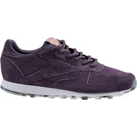 Chaussures Femme Baskets mode Reebok Sport Classic Leather Shimmer BD1520 Violet