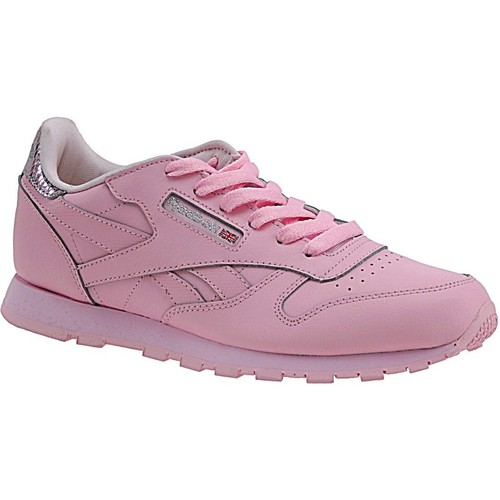 Chaussures Enfant Baskets mode Reebok Sport Classic Leather Metallic BD5898 Pink