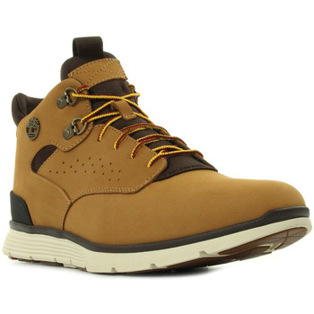 Chaussures Homme Baskets montantes Timberland Killington Hiker Chukka Wheat Nubuck jaune