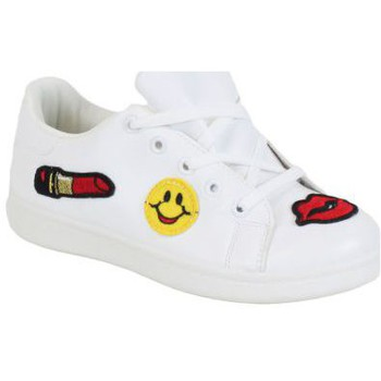 Chaussures Femme Baskets basses Kebello Baskets 80065 blanc