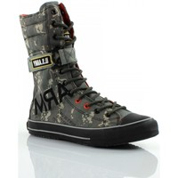 Chaussures Homme Baskets montantes Us Army Combat Camouflage