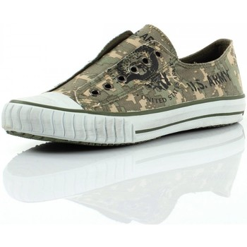 Chaussures Femme Baskets basses Us Army Mission Camouflage