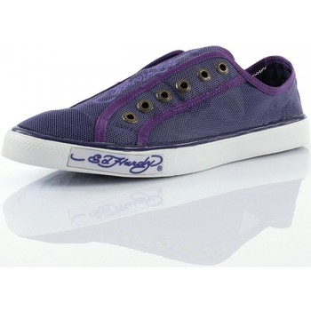 Chaussures Femme Baskets basses Ed Hardy Luz Violet