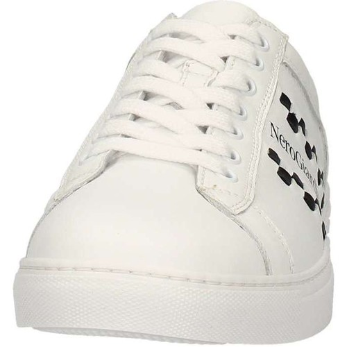 Chaussures Homme Baskets basses Nero Giardini P704930U Sneakers Homme Blanc Blanc