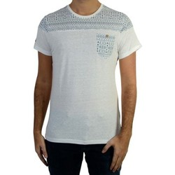 Vêtements Homme T-shirts manches courtes Deeluxe Enders S17121 Off White Blanc