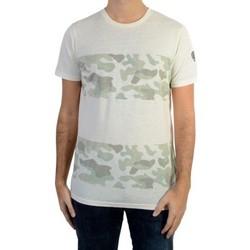 Vêtements Homme T-shirts manches courtes Le Temps des Cerises Tee Shirt Le Temps Des Cerise Cipriano Light Camo Blanc