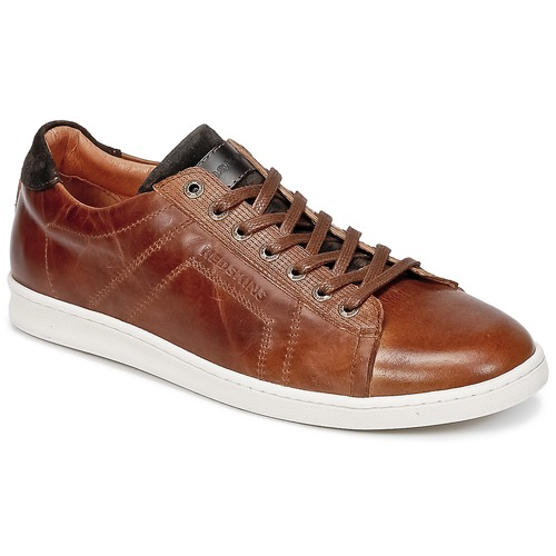 Chaussures Homme Baskets basses Redskins ORMIL Cognac