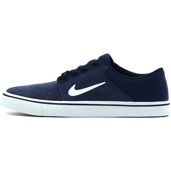 Chaussures Chaussures de Skate Nike SB Portmore Midnight Navy / White / Gum Light Brown