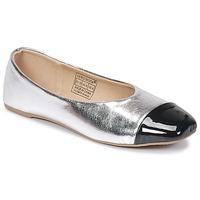 Chaussures Femme Ballerines / babies Vero Moda STAR BALLERINA Argent / noir