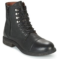 Chaussures Homme Boots Selected TREVOR Noir
