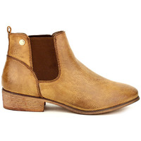 Chaussures Femme Boots Cendriyon Bottines Caramel Chaussures Femme, Caramel