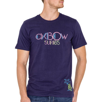 Vêtements Homme T-shirts manches courtes Oxbow Toluca Marine