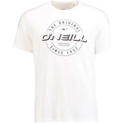 Vêtements Homme T-shirts manches courtes O'neill Badge Powder White