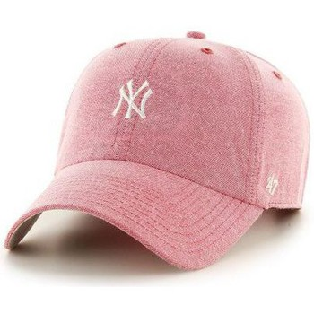 Accessoires textile Casquettes 47 Brand Casquette New York Yankees monument salute CLEAN UP Rouge