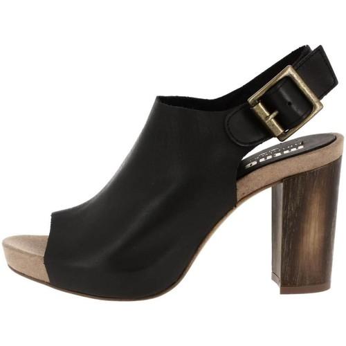 Chaussures Femme Sandales et Nu-pieds MTNG 93862 noir