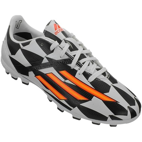 Chaussures Enfant Football adidas Originals F10 AG J World Cup Noir-Blanc