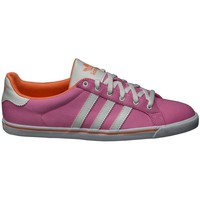 Chaussures Femme Baskets basses adidas Originals Court Star Slim W Rose-Blanc