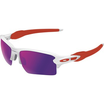 Accessoires Accessoires sport Oakley Flak 2.0 XL Polished White Positive Red Iridium Rouge
