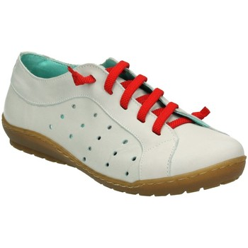 Chaussures Femme Baskets basses Erase Wondy 3003 BLANC