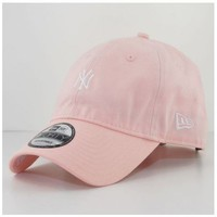 Accessoires textile Casquettes New Era Casquette incurvée New Era NY Yankees MLB 940 Unstructured Rose Rose