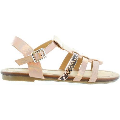 Chaussures Fille Sandales et Nu-pieds Flower Girl 322191-B2040 Rosa
