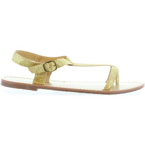Chaussures Femme Sandales et Nu-pieds Top Way B049029-B7200 Gold