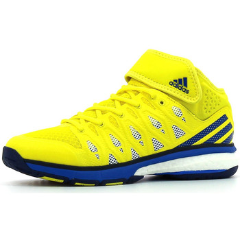 Chaussures Homme Sport Indoor adidas Performance Energy Volley Boost Mid Bright Yellow / Blue / Mystery Blue