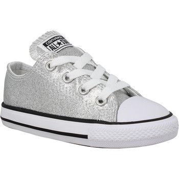 Chaussures Enfant Baskets mode Converse Chuck Taylor All Star toile Enfant Silver Silver